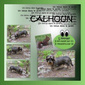 Calhoun et l'intrus dans Digiscrap 35-300x300