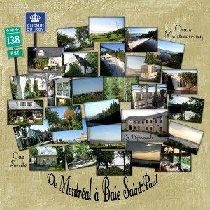 1. De Montréal à Baie Saint-Paul
