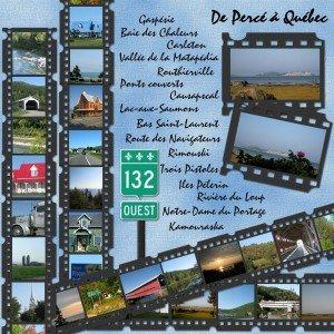 18. De Percé à Québec