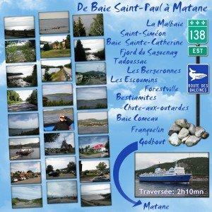 2. De Baie Saint-Paul à Matane
